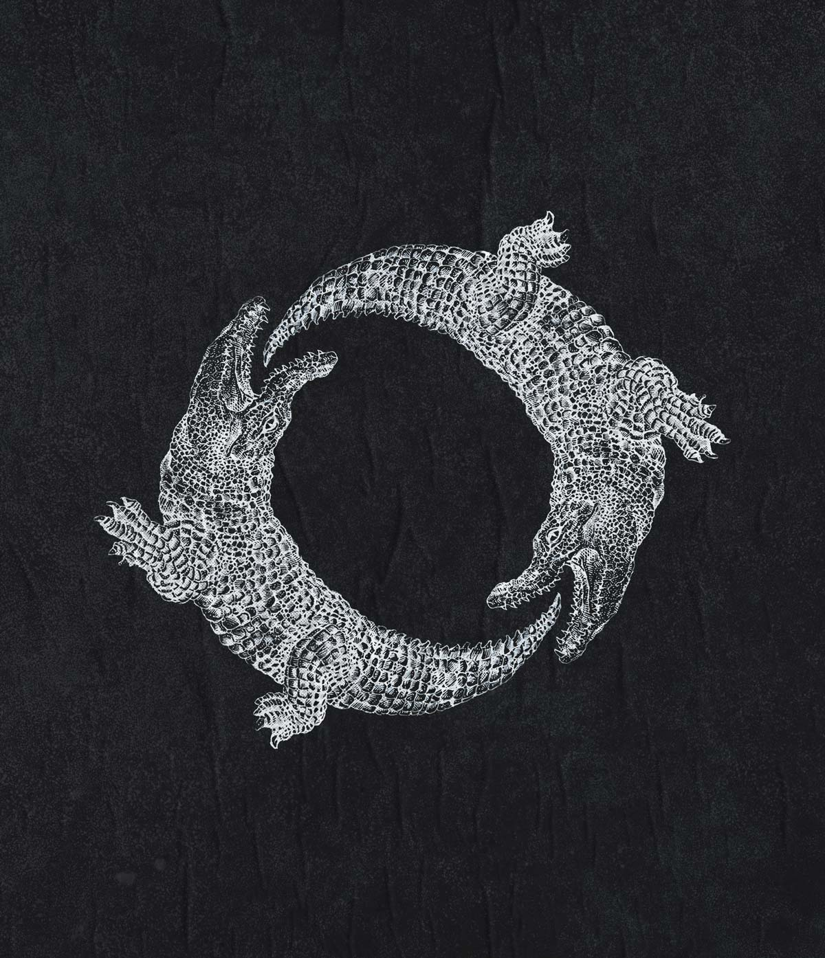 Crocodile-Ouroboros-Black