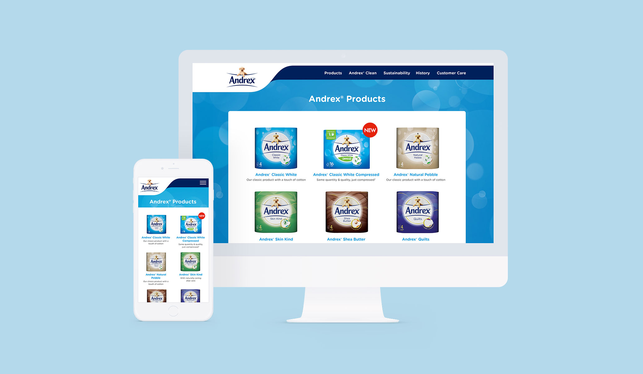 Andrex Website