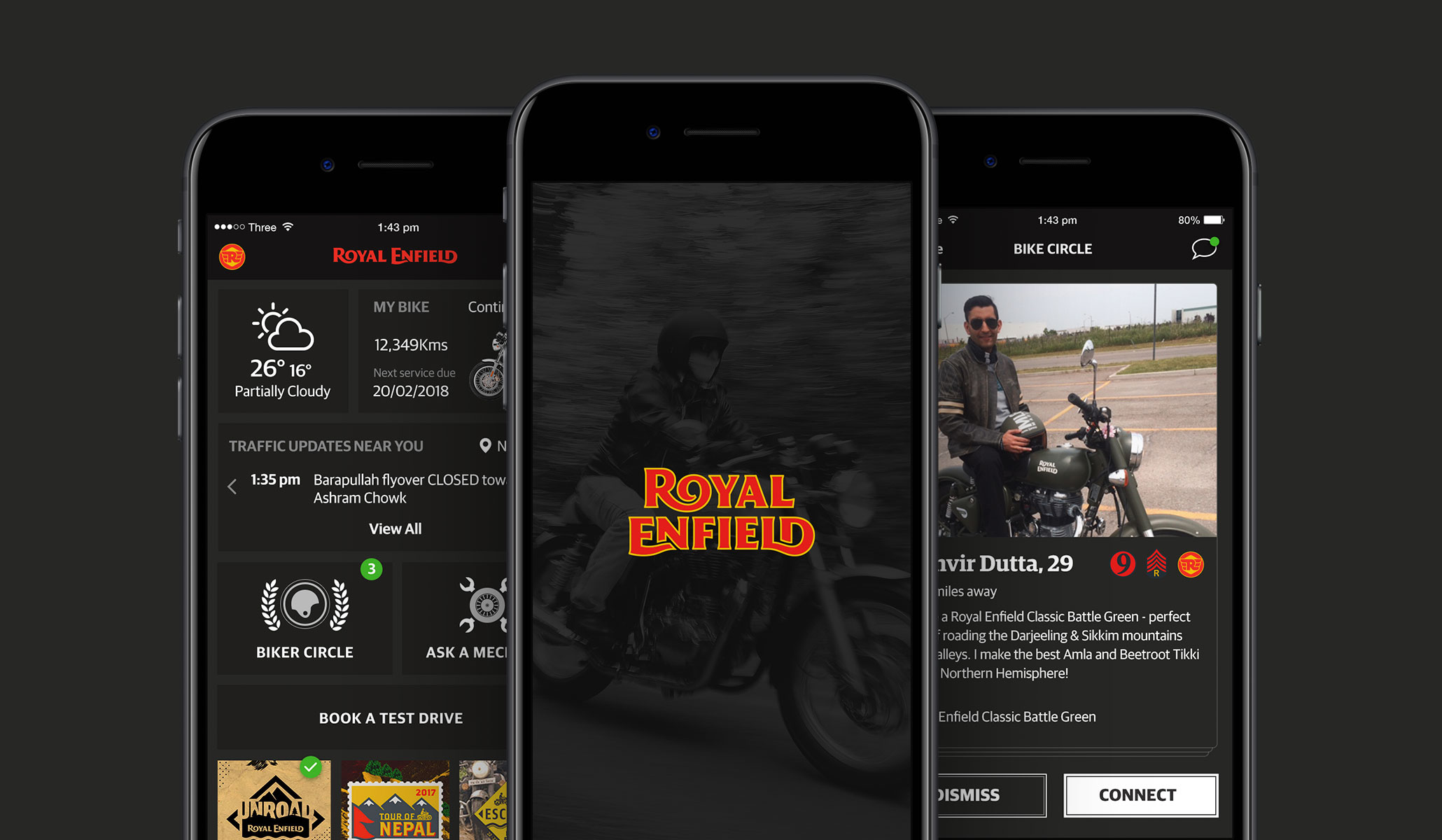 Royal Enfield App